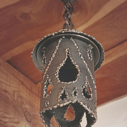 Design wrought iron indoor lighting – new type of lighting in our offer