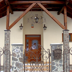 A wrought iron gate - the Renaissance style
