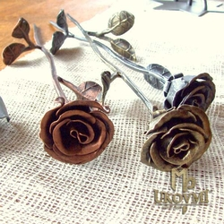 Forged roses from UKOVMI